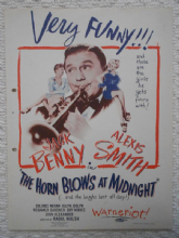 Horn Blows at Midnight, Flyer/Herald, Jack Benny, Alexis Smith, '45